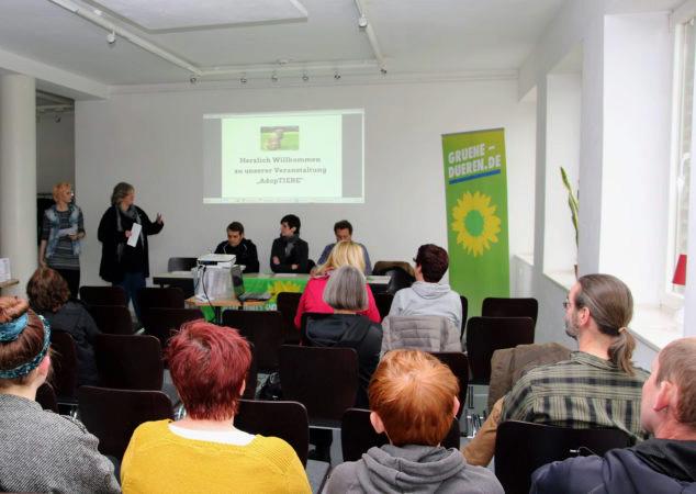 """Arbeitskreis Tierschutz veranstaltet Diskussionsabend - """"AdopTiere"""""""
