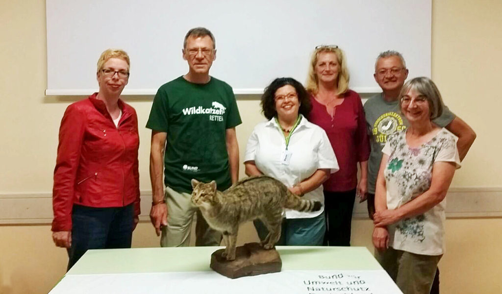 Abb: SAMT bei den Wildkatzen