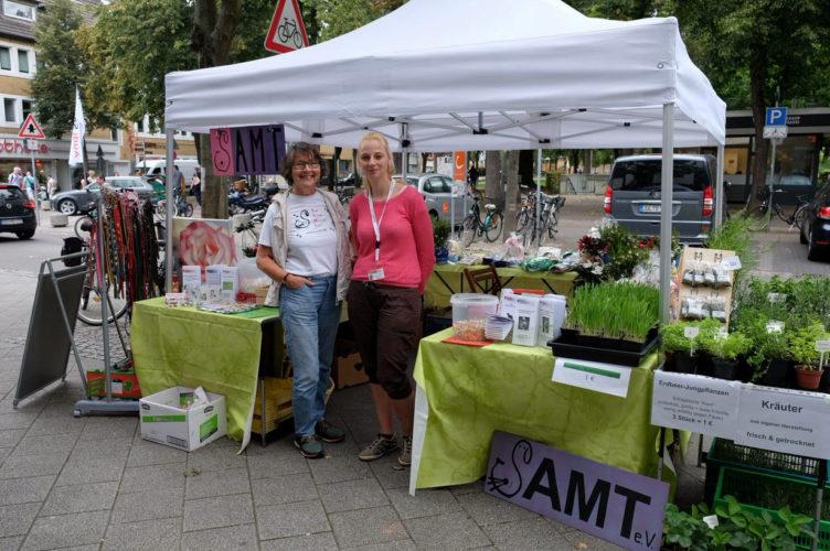 SAMT-Infostand zum Sommerfest